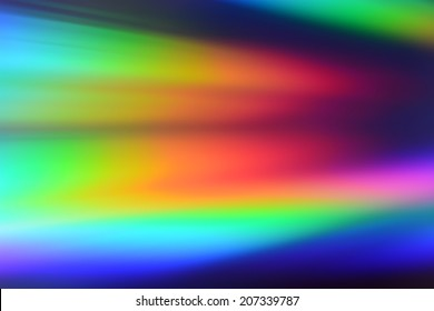 colorful background light reflection