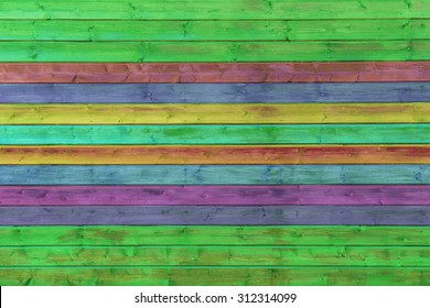 Colorful background of wooden texture