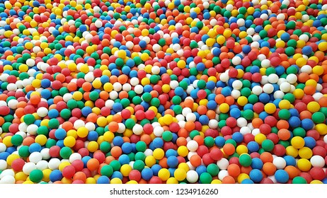 colorful ball pit