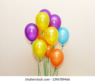 Colorful ballons for celebrations. Celebrstions.