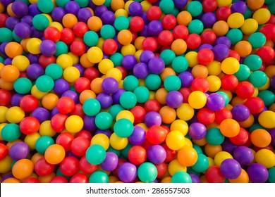 Colorful balls
