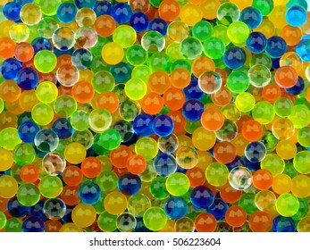 Colorful balls background pattern