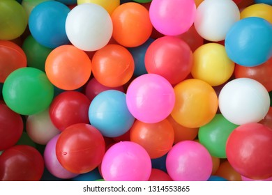 colorful balls on the floor