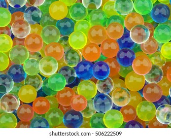 Colorful balls texture