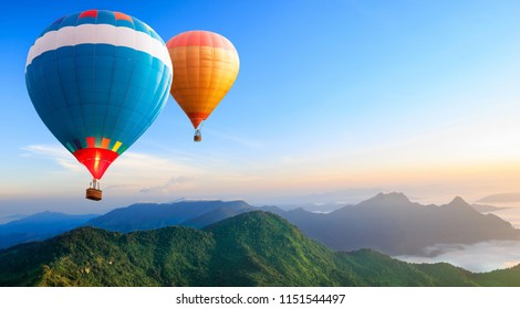colorful baloon in the sky