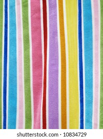 Colorful Beach Towel Background