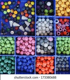 Colorful beads shamballa
