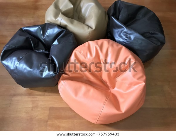 Prime Colorful Beanbag On Wooden Floor Soft Stock Photo Edit Now Forskolin Free Trial Chair Design Images Forskolin Free Trialorg