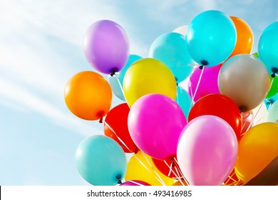 Birthday Balloons Images Stock Photos Vectors