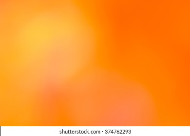 colorful blurred backgrounds / orange background