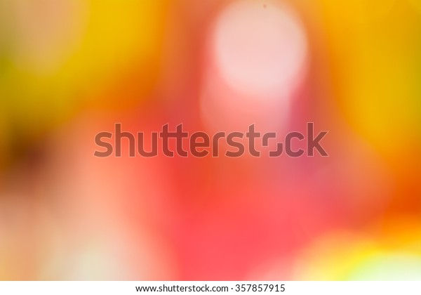 the colorful blurry background