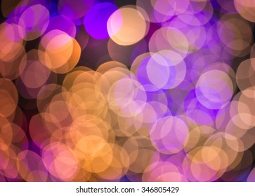 Colorful bokeh of celebration  Background