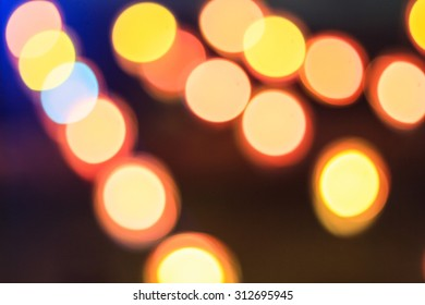 colorful of bokeh light abstract background