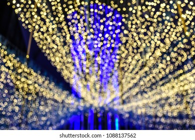 Colorful of Bokeh light , Blurred background