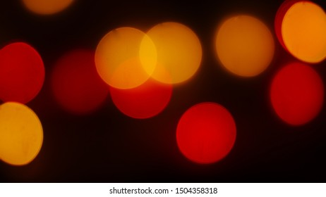Colorful of bokeh light defocused.Abstract background.