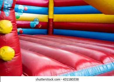 colorful bouncy castle for children / bouncy castle