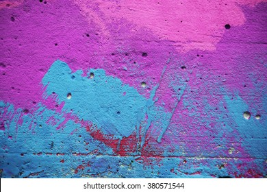 Colorful brick wall, background texture
