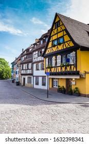 Colorful Buildings In Colmar - Colmar, Alsace, France, Europe