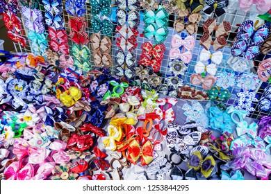 colorful butterflies Tie.  bow-ties