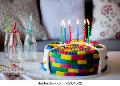 Amazing 6Th Birthday Cake Images Stock Photos Vectors Shutterstock Personalised Birthday Cards Veneteletsinfo