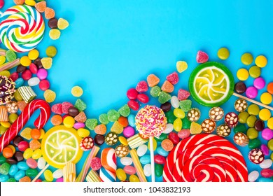 Colorful Candies Desserts
