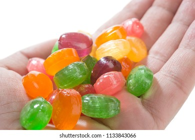 Colorful Candies on Hand