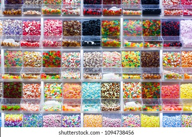 colorful candy dispenser