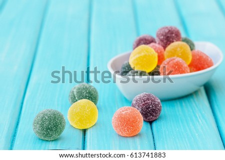 colorful candy jelly sweet jelly candy の写真素材 今すぐ編集