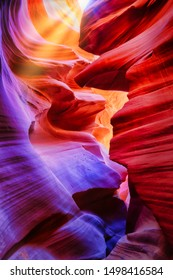 Colorful Canyon at Lower Antelope