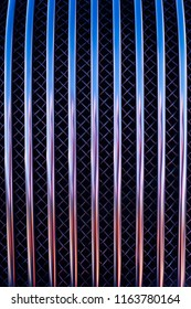 colorful car grille