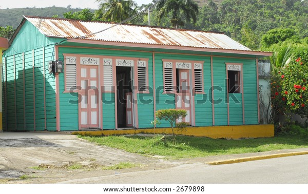 Colorful Caribbean House