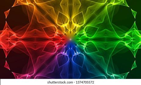 Colorful Chakra Mandala 01