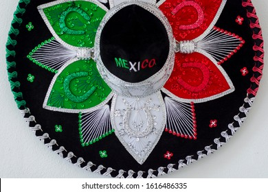 Colorful Charro Hat from Mexico
