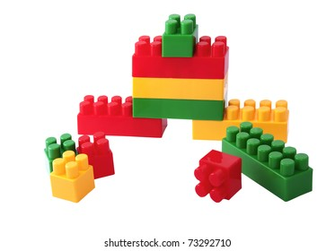 colorful children's building blocks