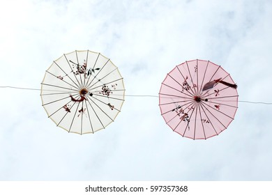 Colorful Chinese Traditional Umbrellas