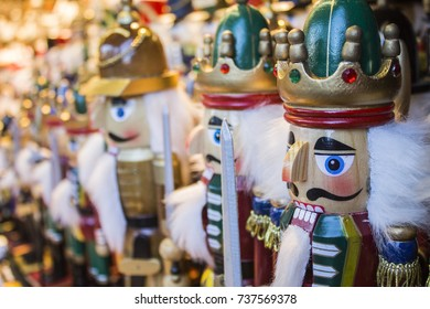 colorful christmas nutcrackers