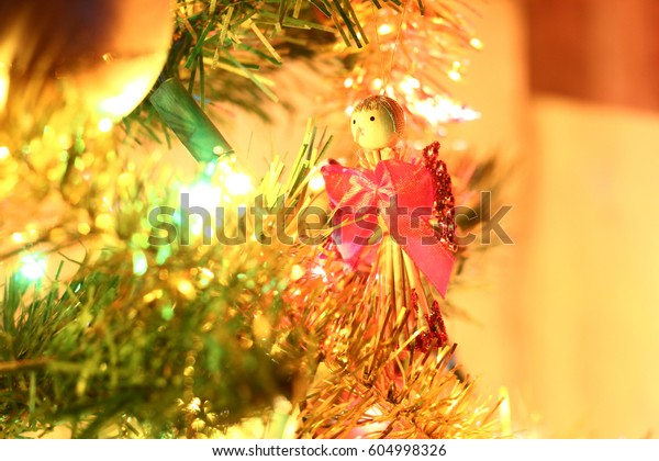 Colorful Christmas Tree Decorations.Colorful Christmas Tree Decorations Stock Photo Edit Now