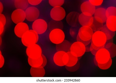 Colorful circles of light abstract bokeh background