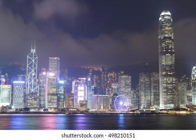 colorful city hong kong, Hong Kong, 6 April 2016