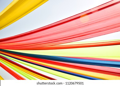Colorful cloth background