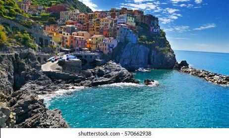 The Colorful Coast in Cinque Terre, Liguria, Italy