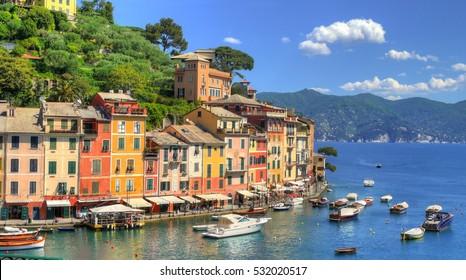 The Colorful Coast in Portofino, Italy