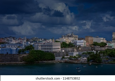 Colorful Coast of Puerto Rico