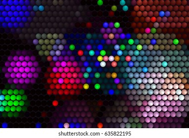 colorful color dots texture pattern background