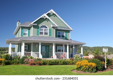 Colorful Country House