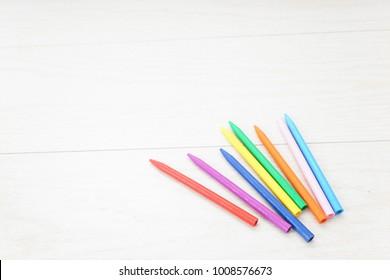 colorful crayon image