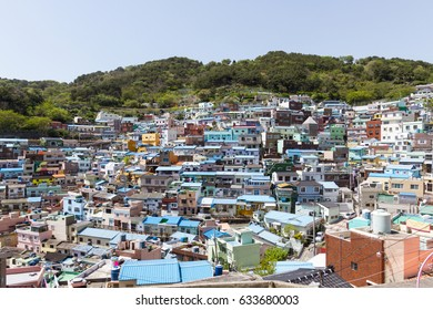 Colorful culture village in Busan