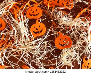 Colorful decor for the holiday of Halloween.