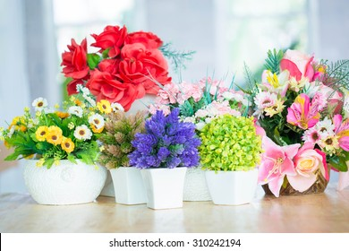 Colorful decoration artificial flower