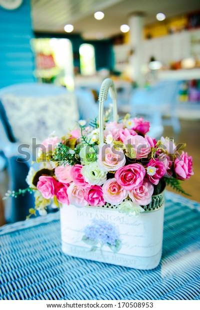 Colorful decoration artificial flower